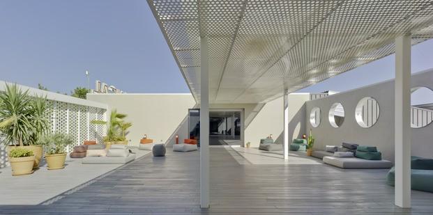 Nuevas oficinas Sancal. Terraza