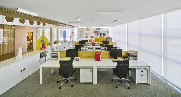 Nuevas oficinas Sancal. Oficinas