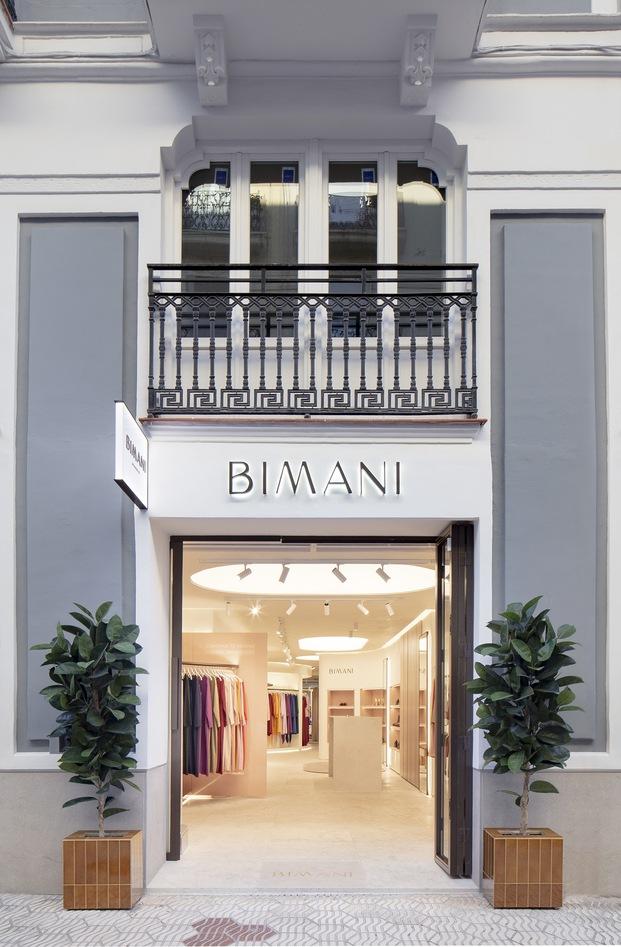 Bimani tienda Valencia. Interiorismo de Culdesac