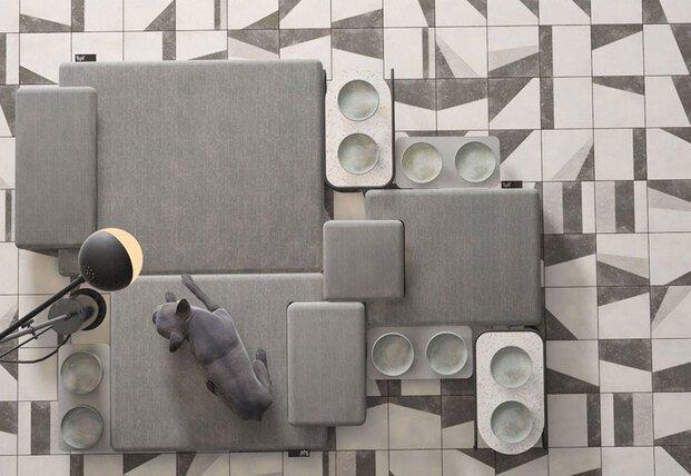 VOL DOG camas de diseño contemporáneo moderno para perros