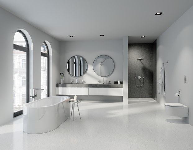 baño grohe plus