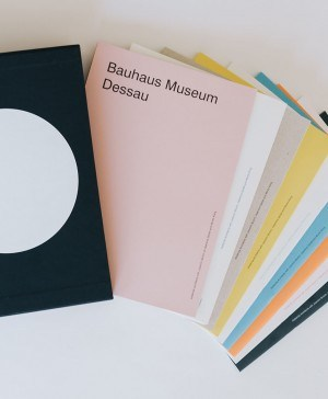 cahiers museo bauhaus