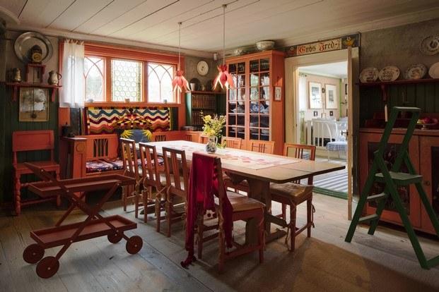 casa de Karin y Carl Larsson estilo escandinavo tradición y modernidad