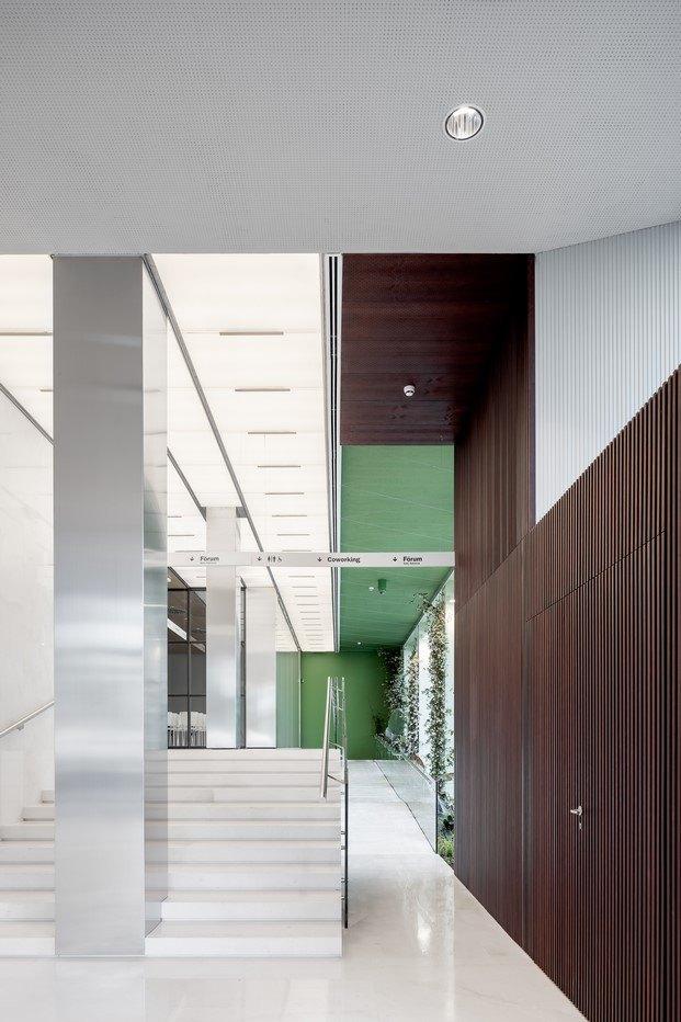 espacio de oficinas en valencia diseñado por Mateo Arquitectura