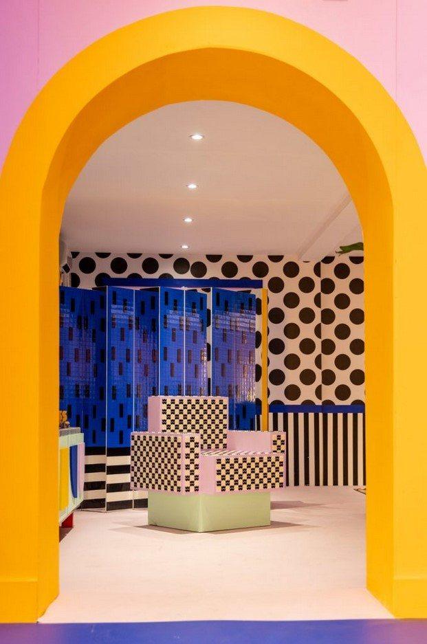 estilo memphis house of dots camille walala lego