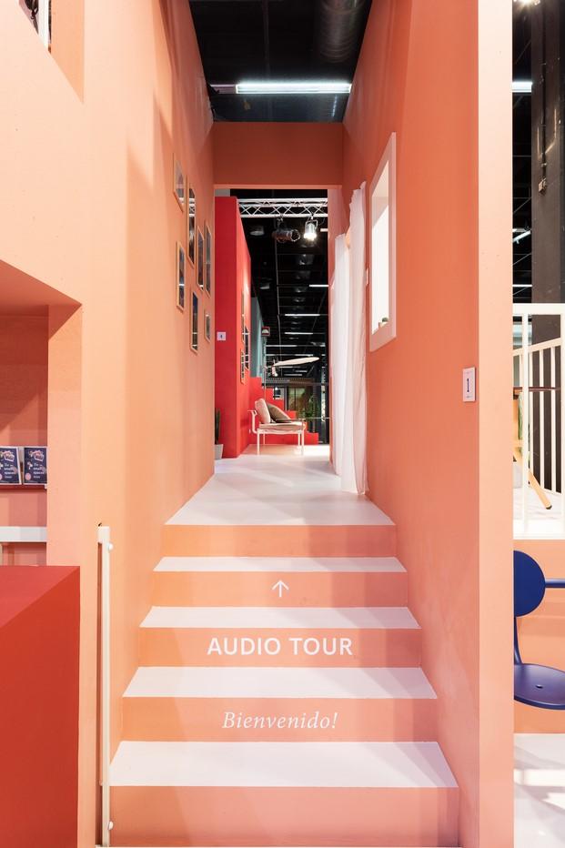 inicio audio tour stand extremis en imm cologne