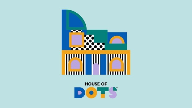 gráfica house of dots lego camille walala