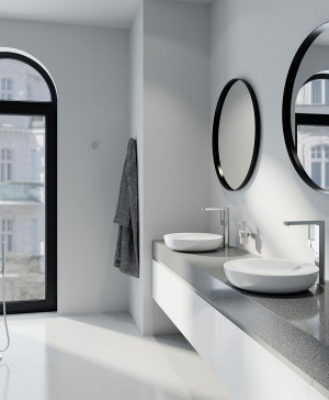 grohe plus baño