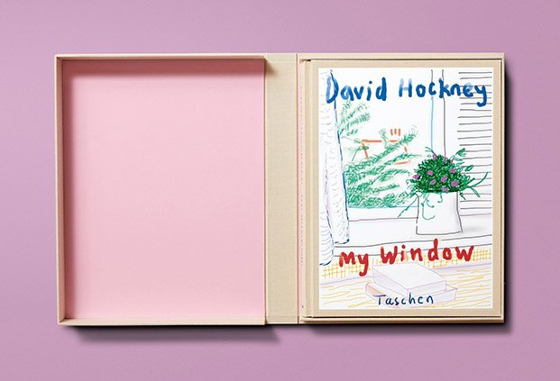 david hockney en arco libro taschen my window