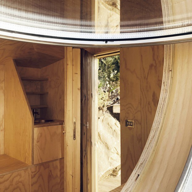 lavabo con grifo grohe cabanon de madera
