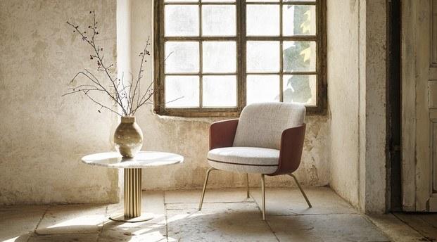 merwyn silla de patas de metal de wittmann