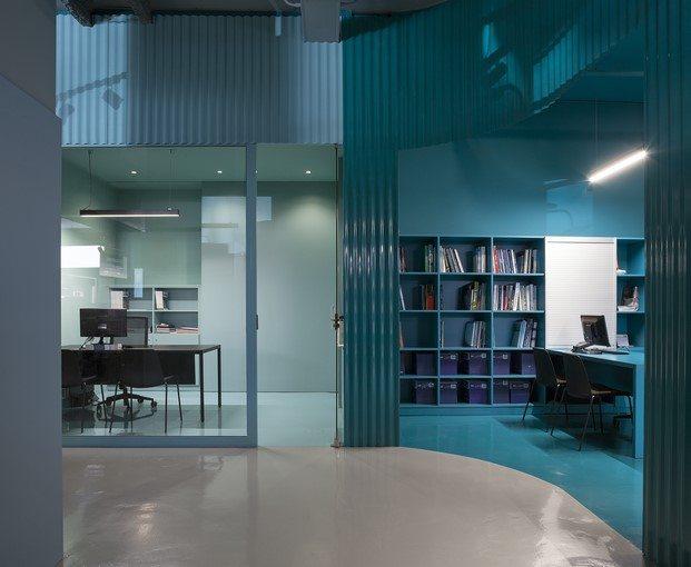 oficinas saniagua inspiración en el agua