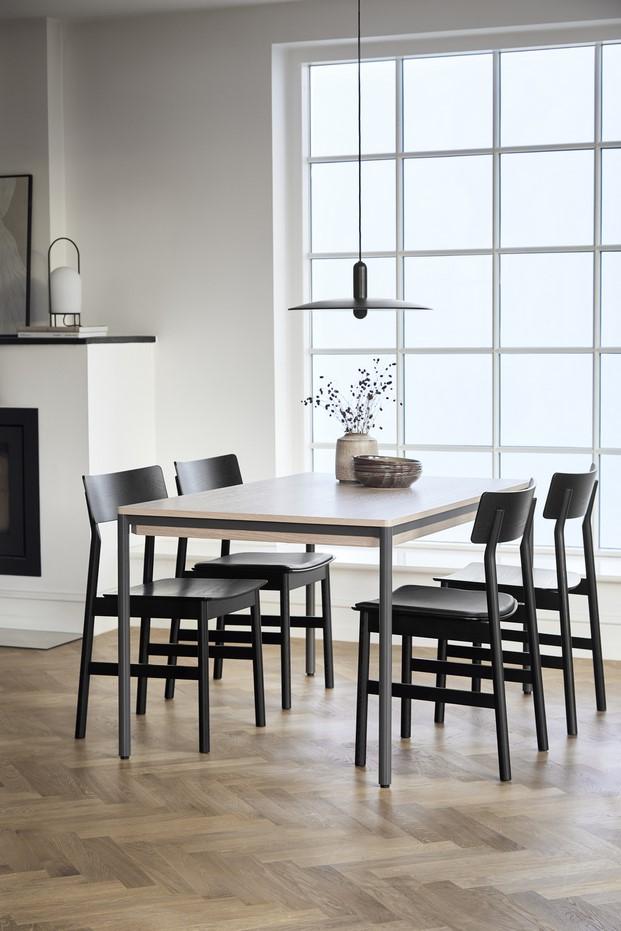 piezas mesa muebles de madera y metal woud