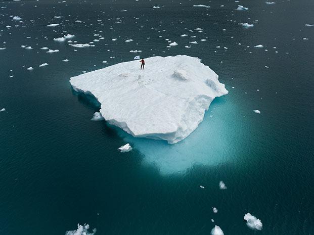 iceberg nations rubén martín de lucas en justmad feria de arte de madrid