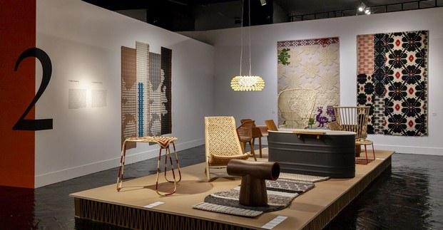 sala de exposición patricia urquiola en madrid design festival