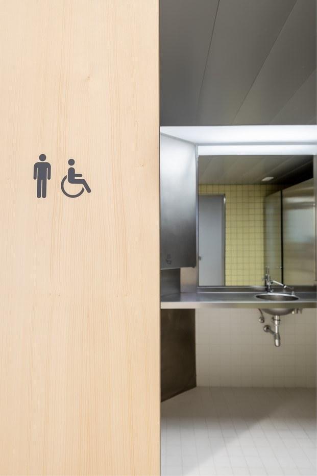 señalética baño diseño de mario eskenazi