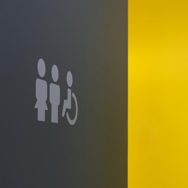 señalética baños saniagua alicante manuel garcía asociados