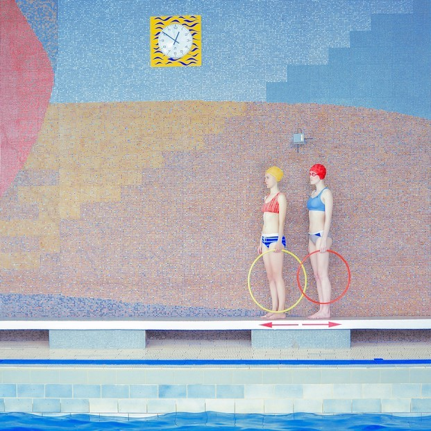 swimming pool de maria svarbova arte de madrid