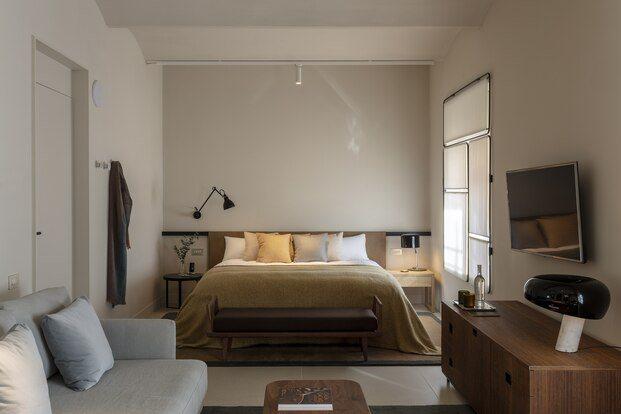 Hotel Casa Cacao Girona. Interiorismo Sandra Tarruella. Habitación