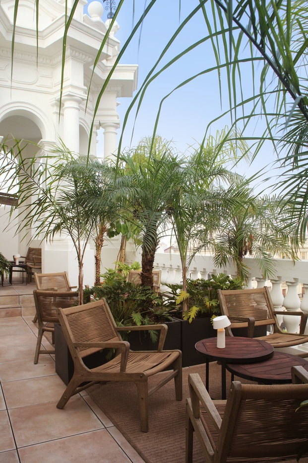 Hotel H10 Palacio Colomera de Córdoba. Azotea