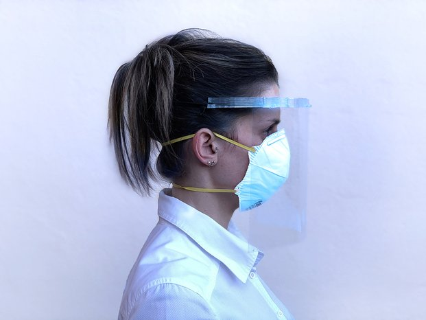 Máscaras impresas en 3D por Nagami Design