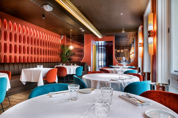 Restaurante italiano Noi Madrid. Interiorismo Ilmiodesign