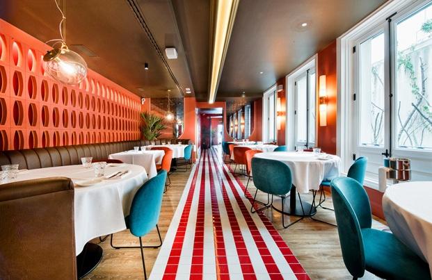 restaurante Noi, Recoletos. Madrid. ilmiodesign