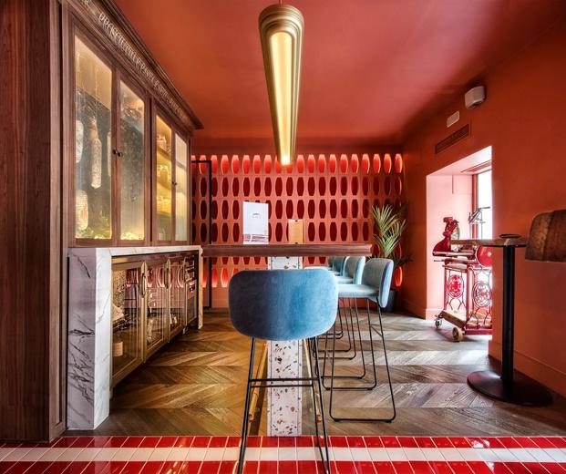 Restaurante italiano Noi Madrid. Interiorismo Ilmiodesign