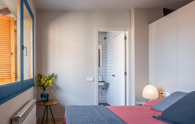 Piso Azul de 45 m2. Julia Brunet