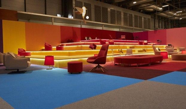 SalaVIP Arcomadrid 2020 RED AEDE. Diseño de teresa Sapey