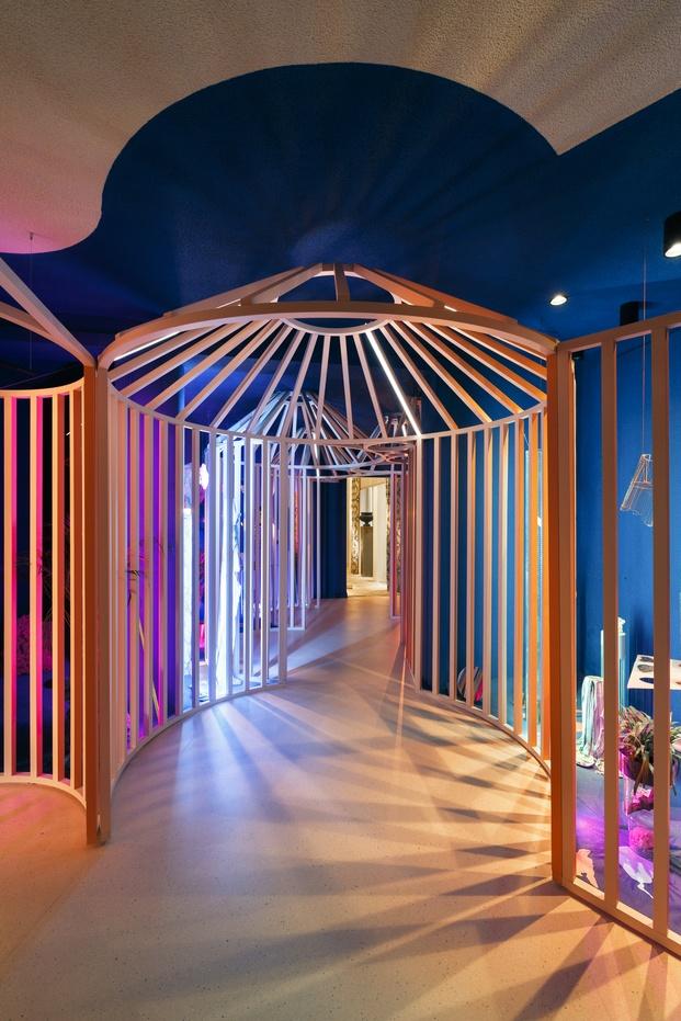 Instalación de Simon en Casa Decor 2020. Diseño de Elii y María Jerez