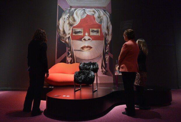 Surrealismo y Diseño. Exposición CaixaForum Barcelona. Mae West. Salvador Dalí