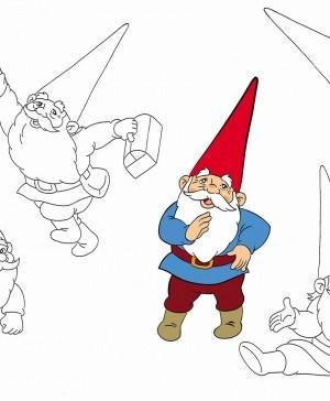 animación española en el museo abc david el gnomo