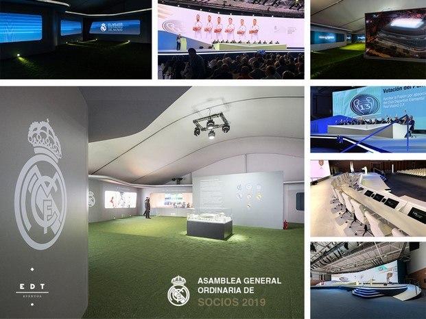 junta de accionistas real madrid 2019 edt eventos premio emporia arquitectura efímera