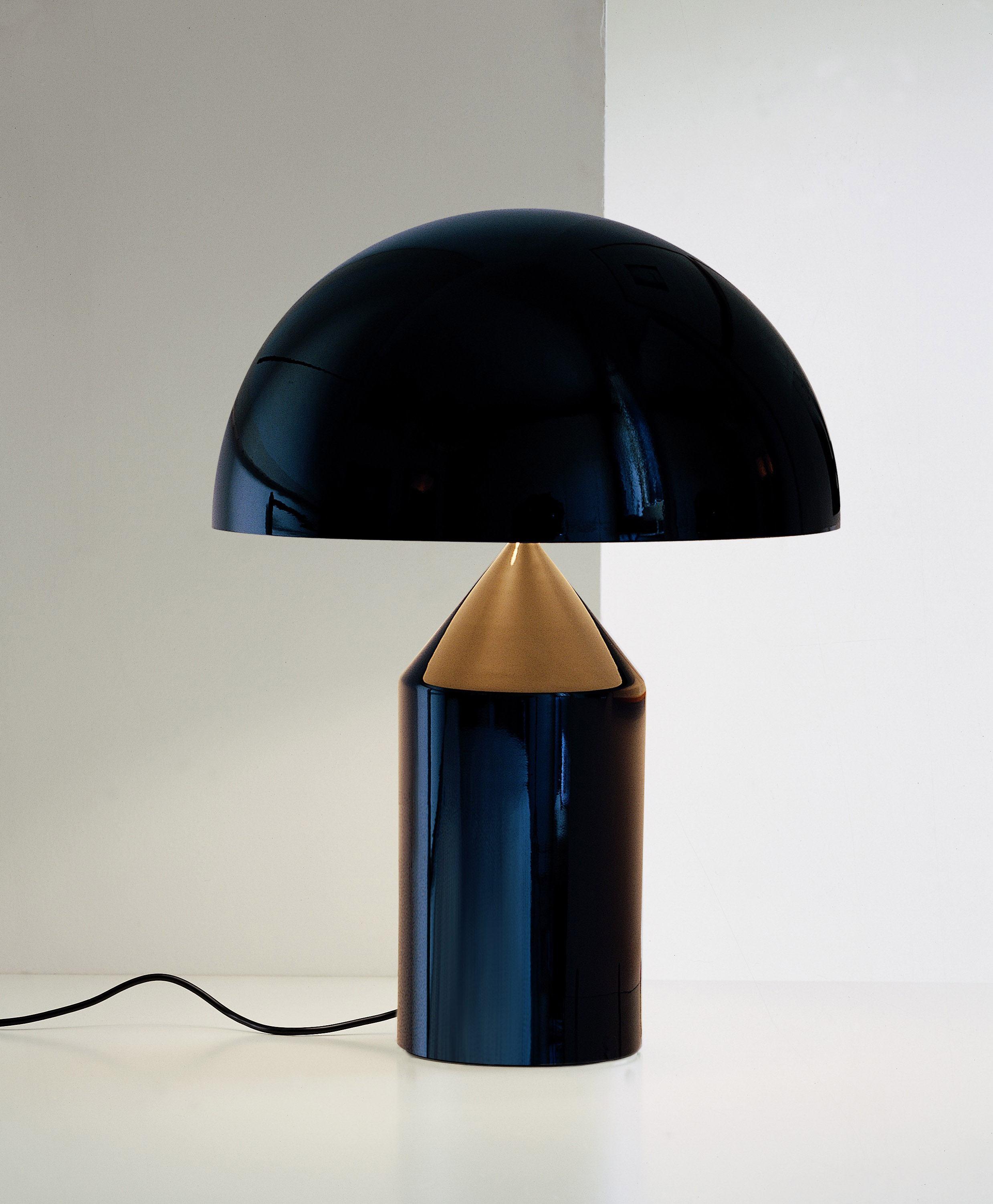 atollo lámpara de diseño italiano magistretti oluce