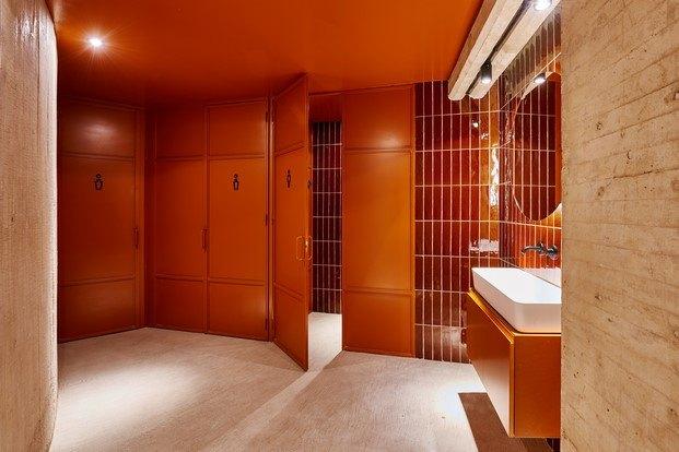 baños oficinas en madrid workout edificio fernando higueras