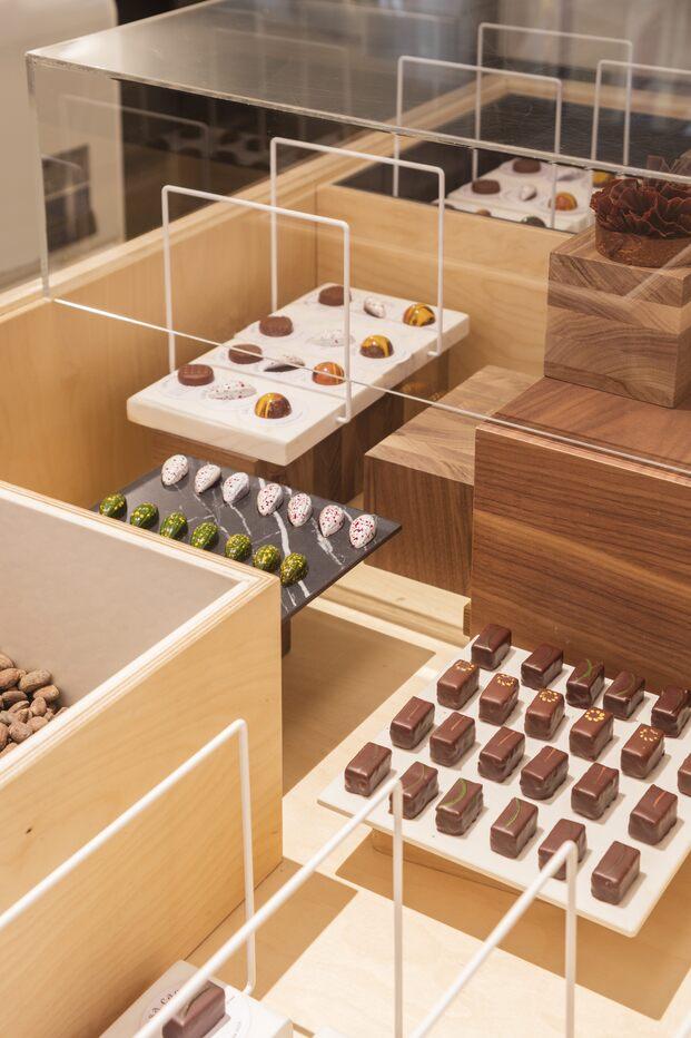Casa Cacao Girona. Jordi Roca. Sandra Tarruella interiorismo. Tienda