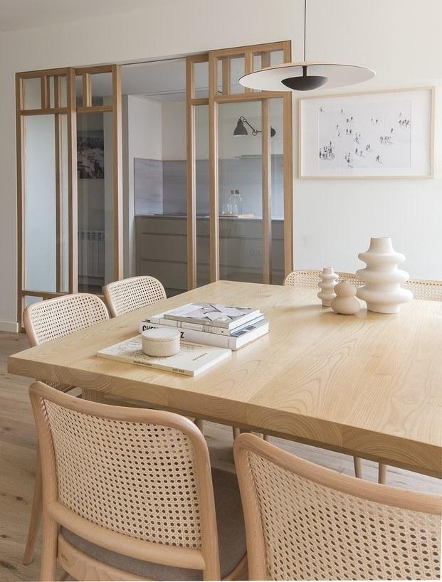 cocina y salón piso bárbara aurell coderch