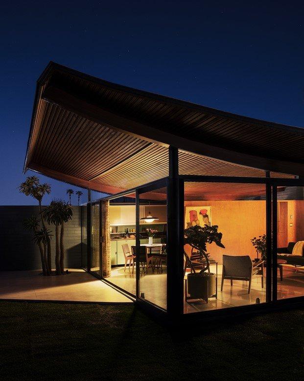 detalle techo de montaña rusa the wave house