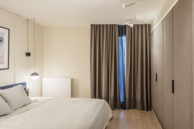 dormitorio piso en barcelona homenaje a Sert abag arquitectura