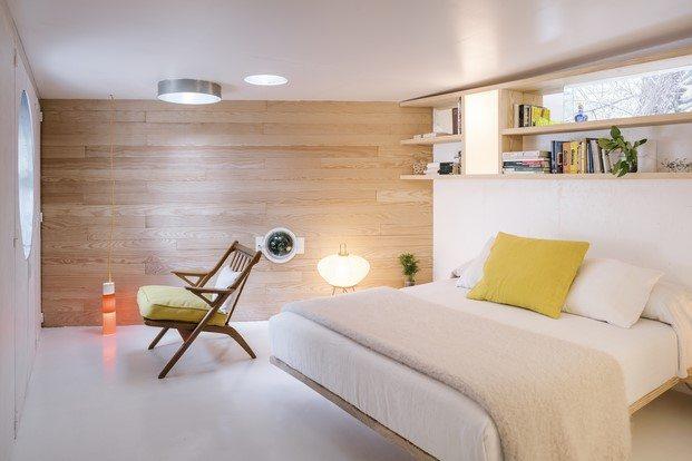 dormitorio vivienda en madrid de la vega cano lasso