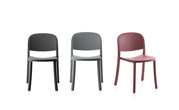 silla 1 inch emeco jasper morrison respetuosa con el medio ambiente