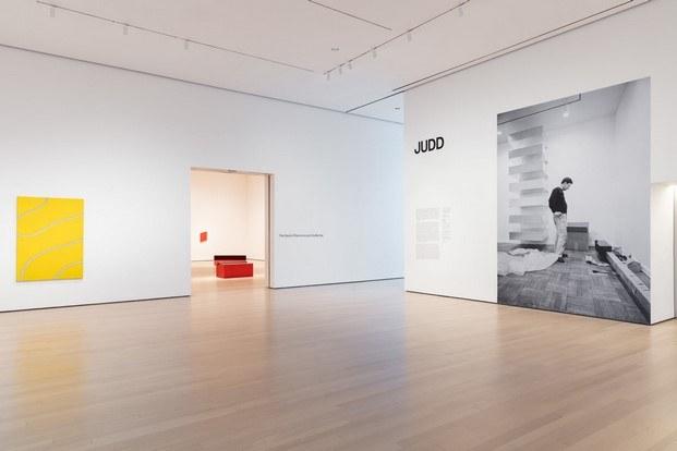 entrada exposición Judd MoMA Nueva York