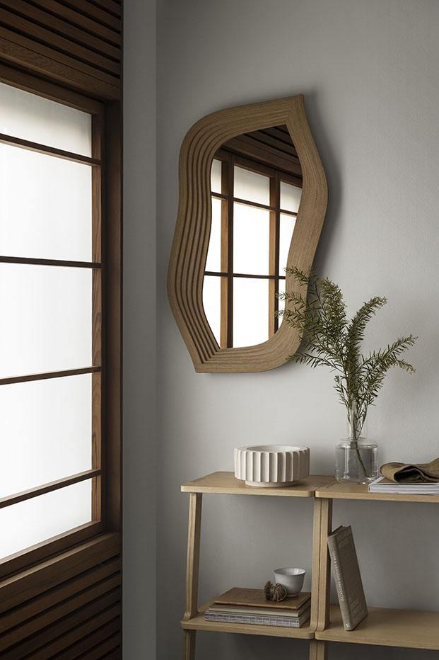 espejo diseñado por front para swedese respetuoso con el medio ambiente