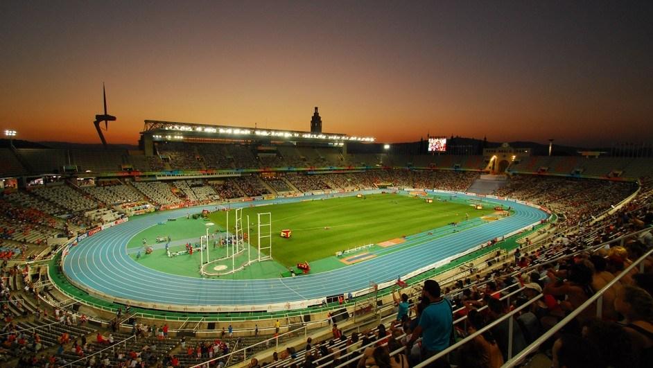 estadio olímpico barcelona