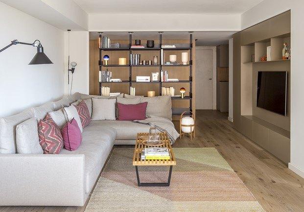 estantería de padova piso espacio en blanco barcelona