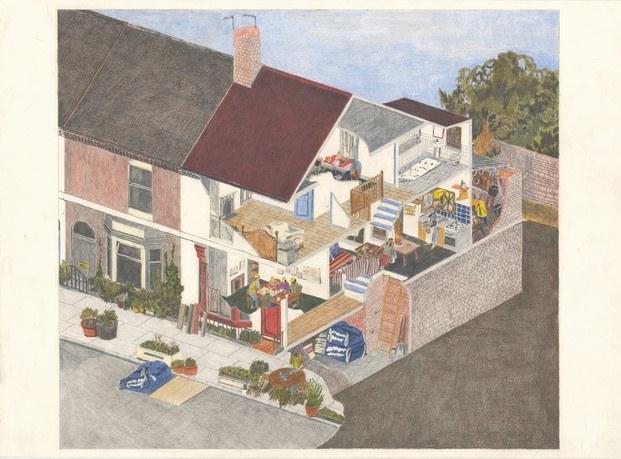 Granby Four Streets Community Housing en Liverpool home stories exposición