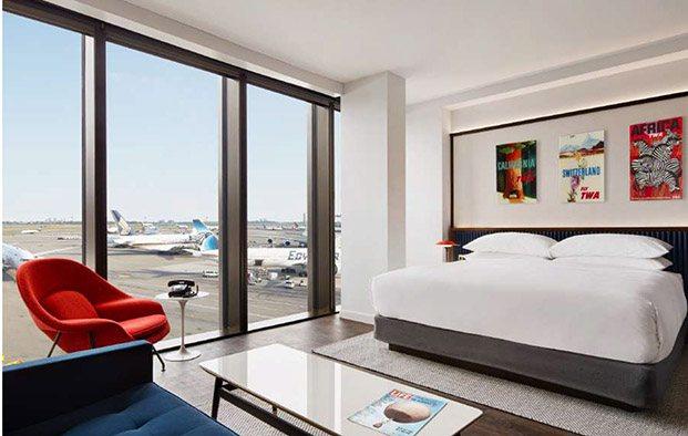 habitación hotel estilo años 60 interiorismo y cine