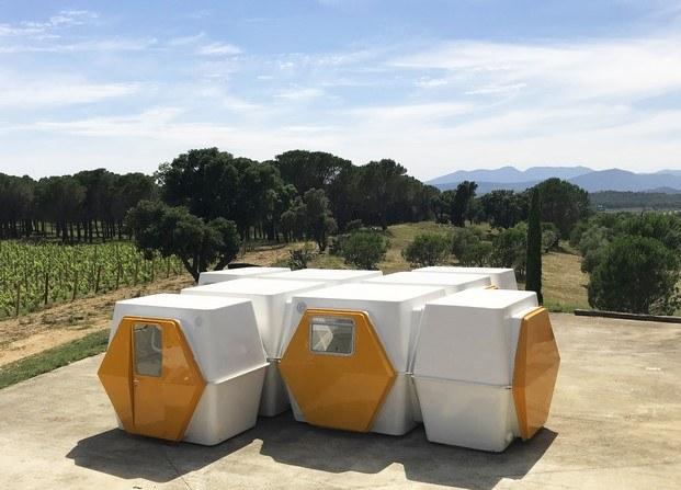 micro-casa hexacube de george candilis