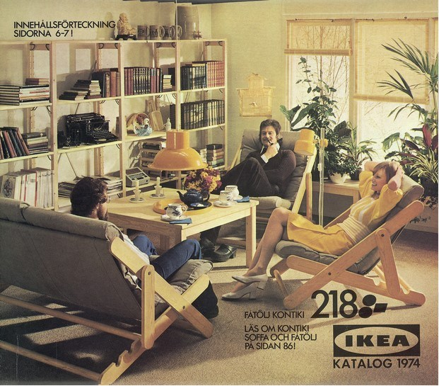 catálogo ikea años 70